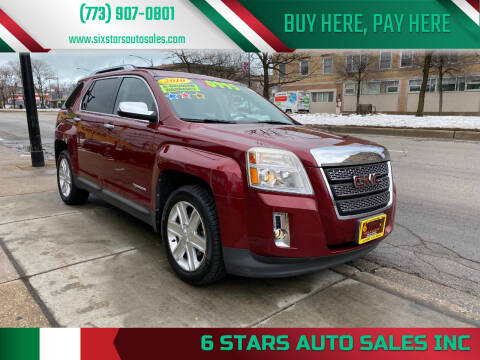 2010 GMC Terrain for sale at 6 STARS AUTO SALES INC in Chicago IL