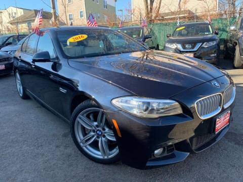 2016 BMW 5 Series for sale at Buy Here Pay Here Auto Sales in Newark NJ