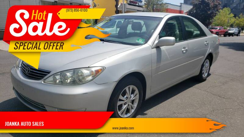 2006 Toyota Camry for sale at JOANKA AUTO SALES in Newark NJ