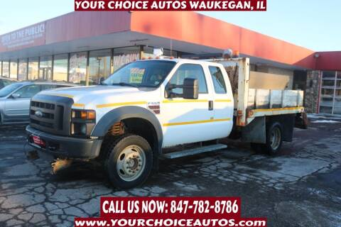 2008 Ford F-550 Super Duty for sale at Your Choice Autos - Waukegan in Waukegan IL
