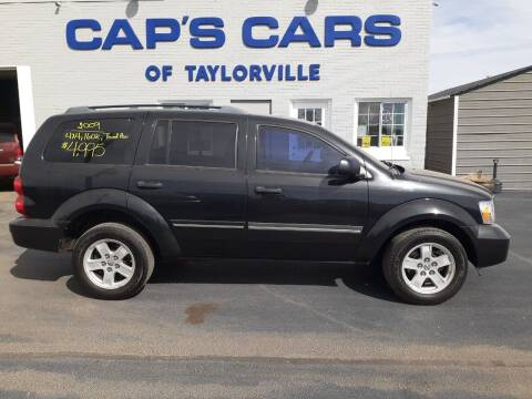 2009 Dodge Durango for sale at Caps Cars Of Taylorville in Taylorville IL