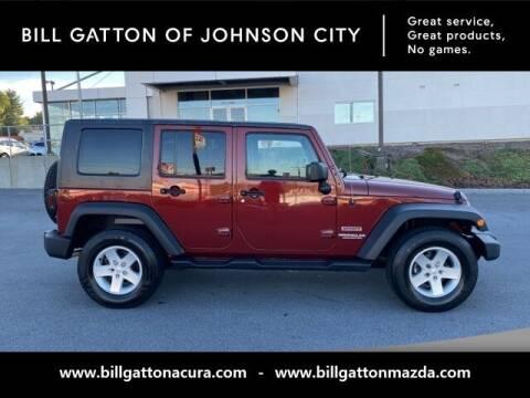 2010 Jeep Wrangler Unlimited for sale at Bill Gatton Used Cars - BILL GATTON ACURA MAZDA in Johnson City TN