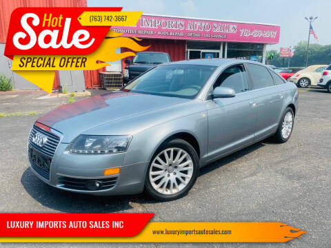 2007 Audi A6 for sale at LUXURY IMPORTS AUTO SALES INC in North Branch MN