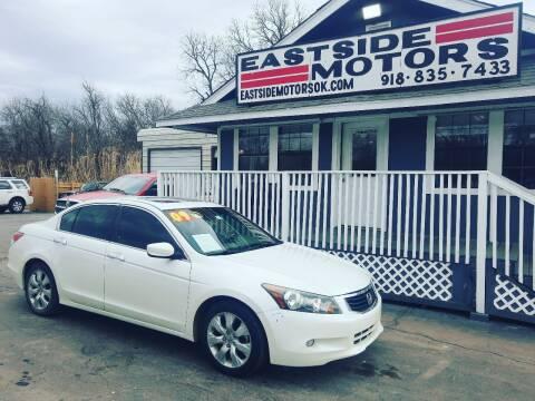 2009 Honda Accord for sale at EASTSIDE MOTORS in Tulsa OK