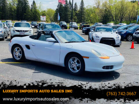 1997 Porsche Boxster for sale at LUXURY IMPORTS AUTO SALES INC in North Branch MN