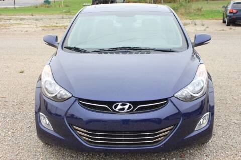 2013 Hyundai Elantra for sale at Bowman Auto Sales in Hebron OH