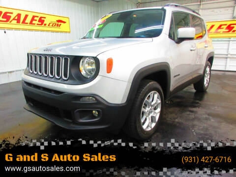 2015 Jeep Renegade for sale at G and S Auto Sales in Ardmore TN