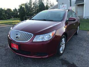2010 Buick LaCrosse for sale at FUSION AUTO SALES in Spencerport NY