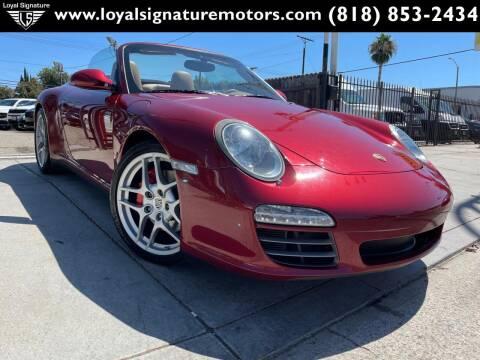 2009 Porsche 911 for sale at Loyal Signature Motors Inc. in Van Nuys CA