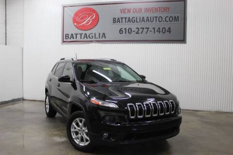 2015 Jeep Cherokee for sale at Battaglia Auto Sales in Plymouth Meeting PA