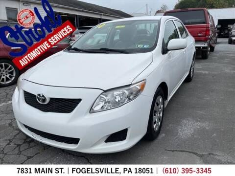 2010 Toyota Corolla for sale at Strohl Automotive Services in Fogelsville PA