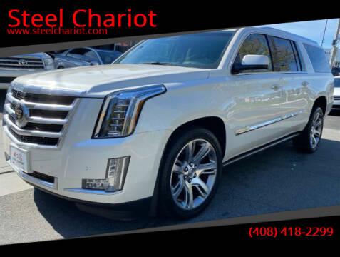 2015 Cadillac Escalade ESV for sale at Steel Chariot in San Jose CA