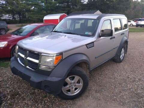 2008 Dodge Nitro for sale at Seneca Motors, Inc. (Seneca PA) - SHIPPENVILLE, PA LOCATION in Shippenville PA
