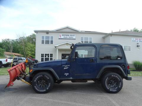 1997 Jeep Wrangler for sale at SOUTHERN SELECT AUTO SALES in Medina OH