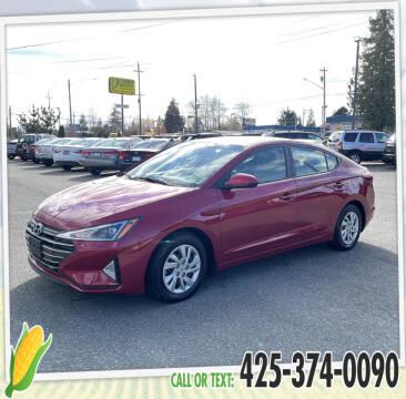 2020 Hyundai Elantra for sale at Corn Motors in Everett WA