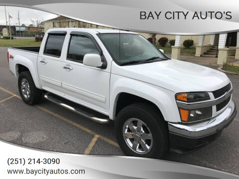 2012 Chevrolet Colorado for sale at Bay City Auto's in Mobile AL