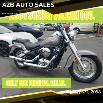 2004 Suzuki Vulcan800 for sale at A2B AUTO SALES in Chula Vista CA