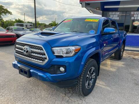 2017 Toyota Tacoma for sale at Cow Boys Auto Sales LLC in Garland TX