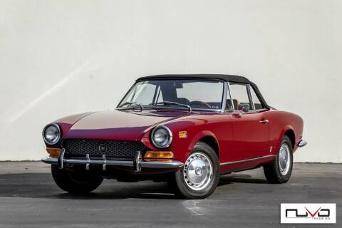 1972 FIAT 124 Spider for sale at Nuvo Trade in Newport Beach CA