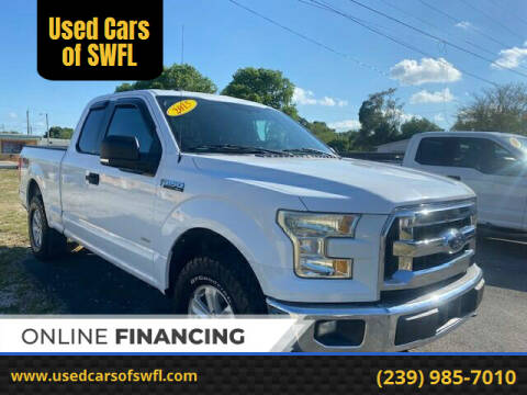 2015 Ford F-150 for sale at Used Cars of SWFL in Fort Myers FL