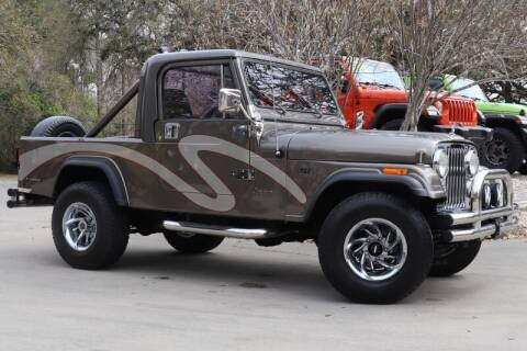 1983 Jeep Scrambler for sale at SELECT JEEPS INC in League City TX