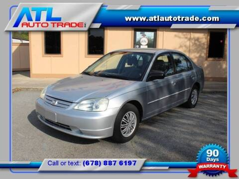 2003 Honda Civic for sale at ATL Auto Trade, Inc. in Stone Mountain GA