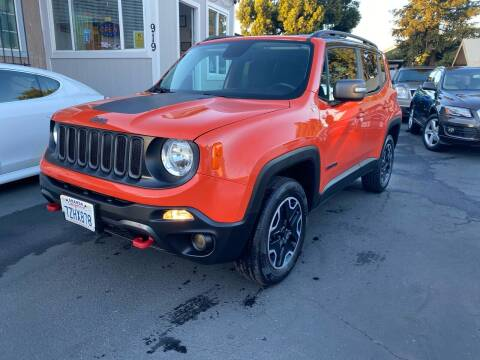 2016 Jeep Renegade for sale at Ronnie Motors LLC in San Jose CA