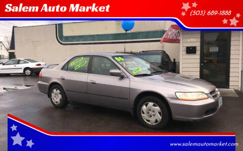 2000 Honda Accord for sale at Salem Auto Market in Salem OR