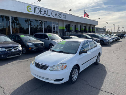 2007 Toyota Corolla for sale at Ideal Cars in Mesa AZ