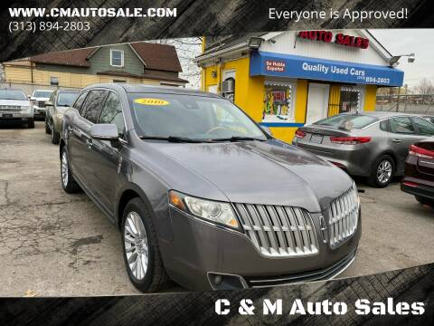 2010 Lincoln MKT for sale at C & M Auto Sales in Detroit MI