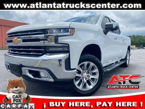 2019 Chevrolet Silverado 1500 for sale at ATLANTA TRUCK CENTER LLC in Brookhaven GA