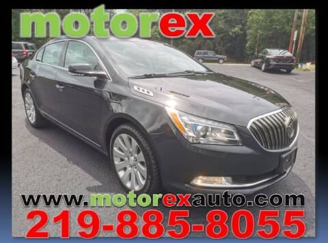 2014 Buick LaCrosse for sale at Motorex Auto Sales in Schererville IN