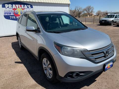 2012 Honda CR-V for sale at Praylea's Auto Sales in Peyton CO