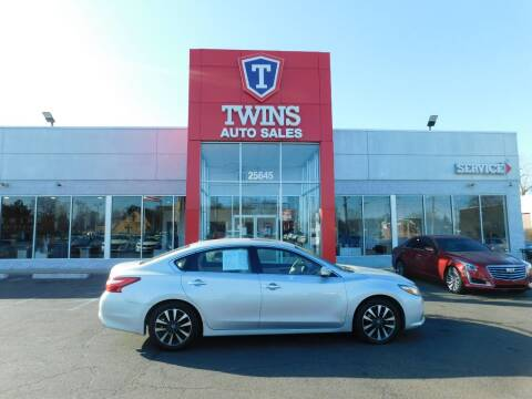 2016 Nissan Altima for sale at Twins Auto Sales Inc Redford 1 in Redford MI