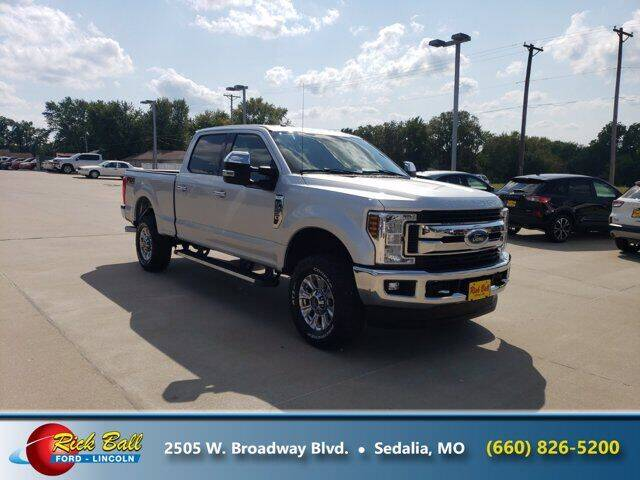 2018 Ford F-250 Super Duty for sale at RICK BALL FORD in Sedalia MO