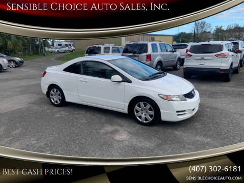 2011 Honda Civic for sale at Sensible Choice Auto Sales, Inc. in Longwood FL