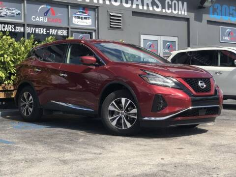 2019 Nissan Murano for sale at CARUCARS LLC in Miami FL