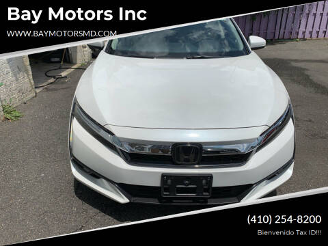 2018 Honda Clarity Plug-In Hybrid for sale at Bay Motors Inc in Baltimore MD