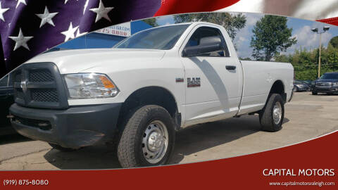 2013 RAM Ram Pickup 2500 for sale at Capital Motors in Raleigh NC