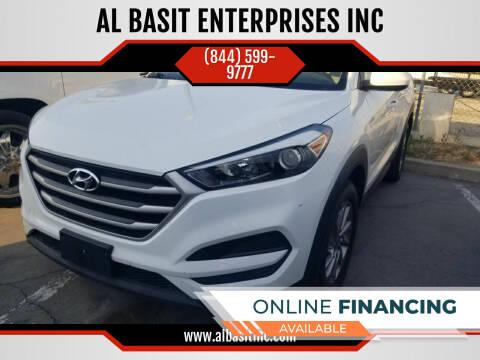 2017 Hyundai Tucson for sale at AL BASIT ENTERPRISES INC in Riverside CA