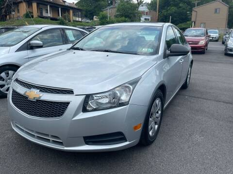 2013 Chevrolet Cruze for sale at Fellini Auto Sales & Service LLC in Pittsburgh PA