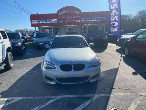 2006 BMW M5 for sale at Sandy Lane Auto Sales and Repair in Warwick RI