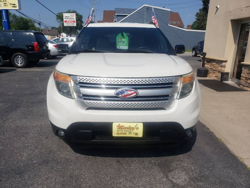 2011 Ford Explorer for sale at Marley's Auto Sales in Pasadena MD