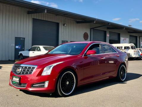 2013 Cadillac ATS for sale at DASH AUTO SALES LLC in Salem OR