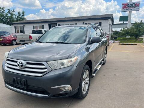2011 Toyota Highlander for sale at Zoom Auto Sales in Oklahoma City OK
