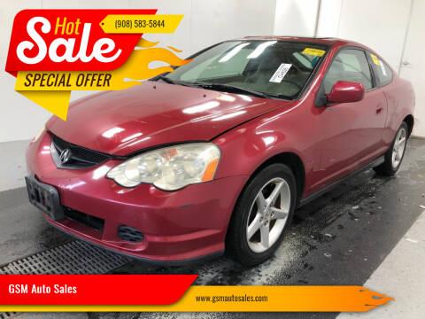 2002 Acura RSX for sale at GSM Auto Sales in Linden NJ