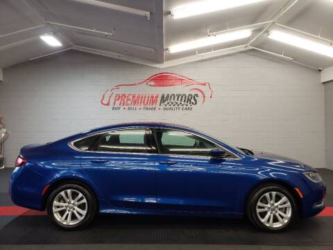 2015 Chrysler 200 for sale at Premium Motors in Villa Park IL