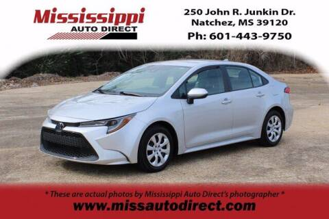 2020 Toyota Corolla for sale at Auto Group South - Mississippi Auto Direct in Natchez MS