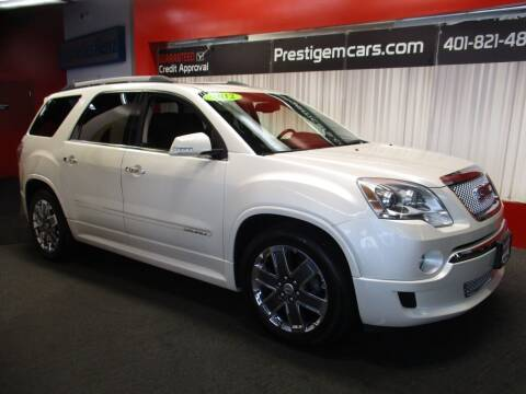 2012 GMC Acadia for sale at Prestige Motorcars in Warwick RI