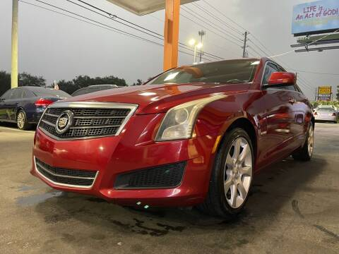 2014 Cadillac ATS for sale at LATINOS MOTOR OF ORLANDO in Orlando FL